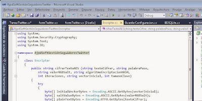 Acceso a Twitter con aplicación C# .Net y API Twitter Spring.NET Social Extension