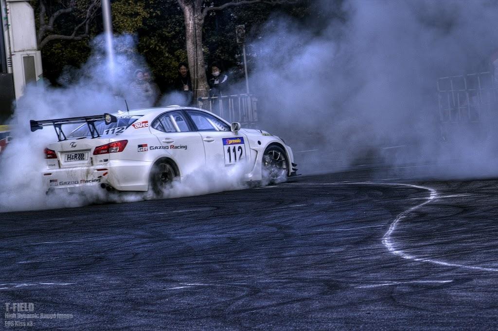 GAZOO Racing LEXUS IS F CCSRニュルブルクリンク耐久レース参戦車両
