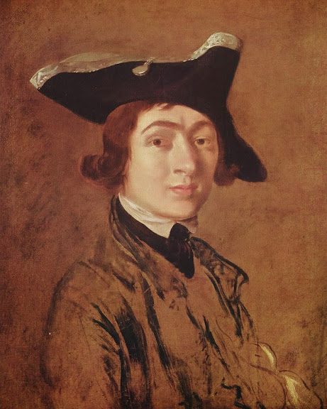 Thomas Gainsborough - Self-Portrait (1754)