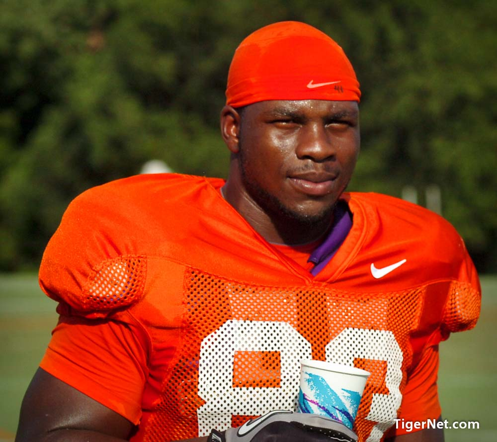 2011 Fall Camp - Pads Photos - 2011, Dwayne Allen, Fall Camp, Football, Practice