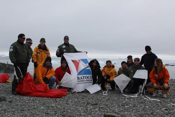 Barrileteada Antártica