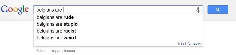 belgians google