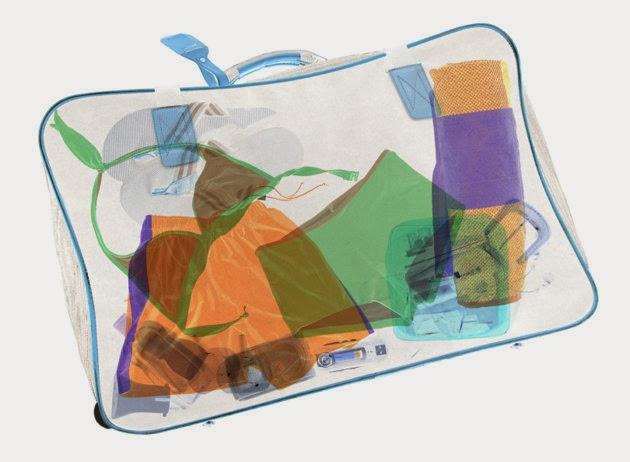 Suitcase - Xray view