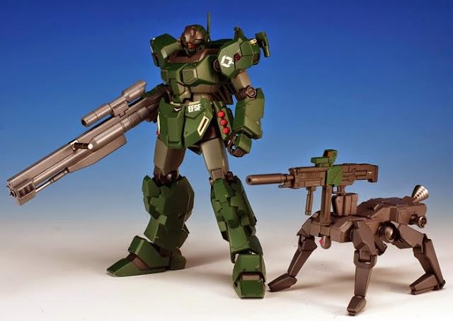 Vũ khí Gundam HG Build Custom 009 K9 Dog Pack cho Gundam tỏa sáng