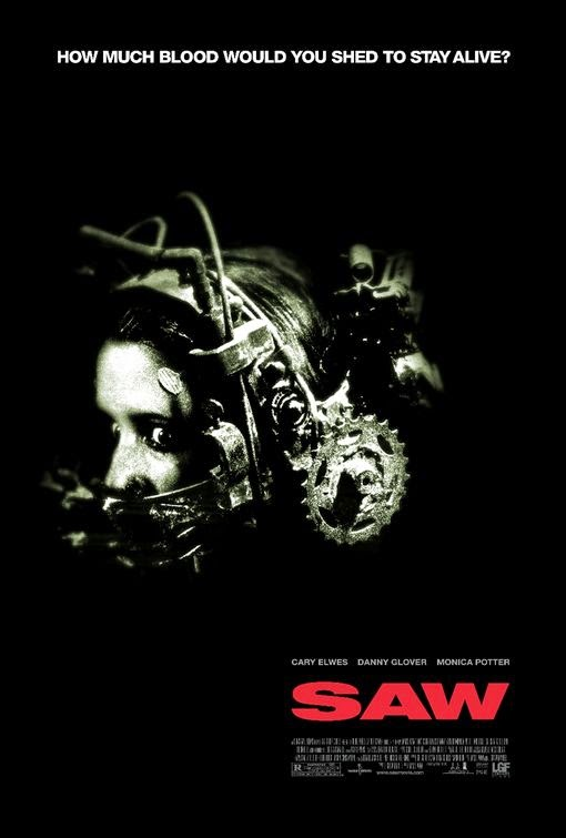 Poster Of Saw (2004) Full Movie Hindi Dubbed Free Download Watch Online At Alldownloads4u.Com