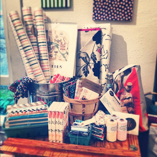 drygoods design in ballard gift shop paper and fabric