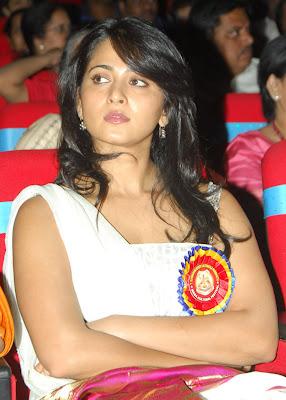 Anushka Setty at TSR Awards function
