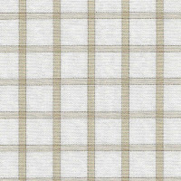 Beige classic checkered patterned dress shirt for you