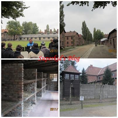 奧斯維辛集中營一景