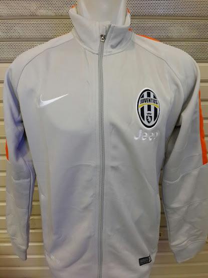 Jual Jaket Juventus Abu-Abu List Orange 2014-2015
