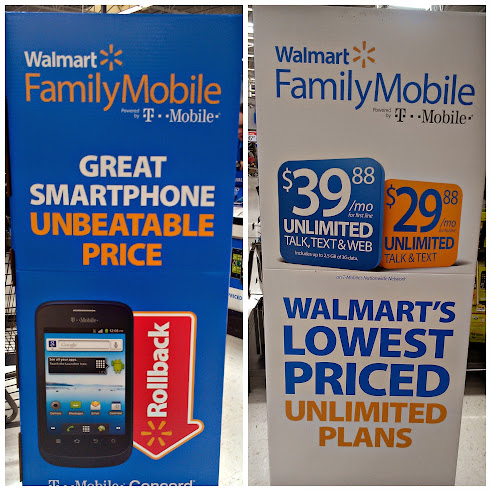 Walmart #FamilyMobile Unlimited Talk Text and Web for $39.88 #shop