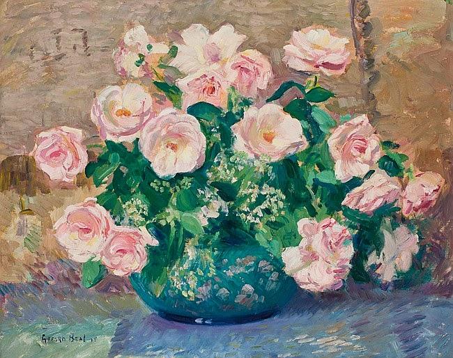 Gifford Beal - Pink Roses