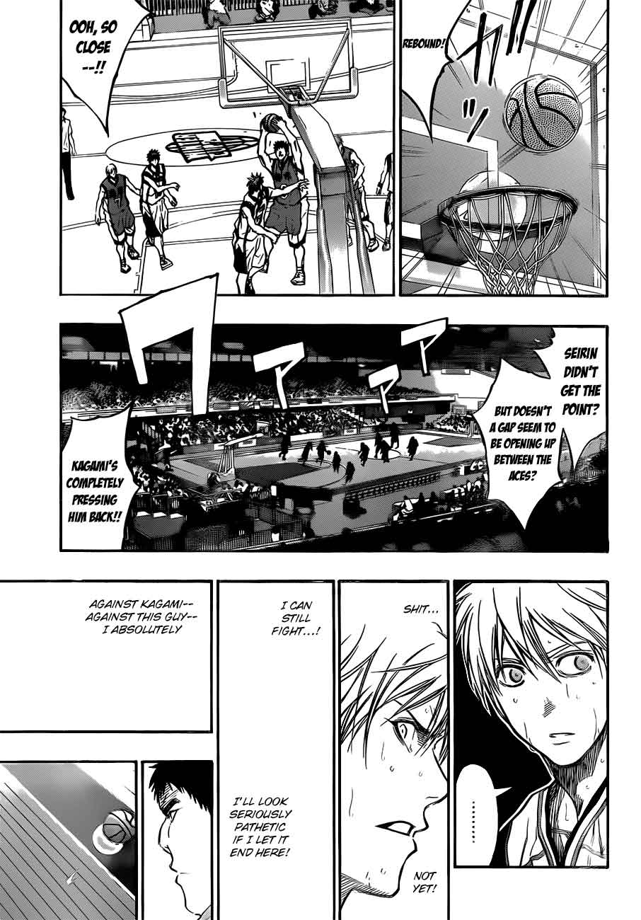 Kuroko no Basket Manga Chapter 190 - Image 09