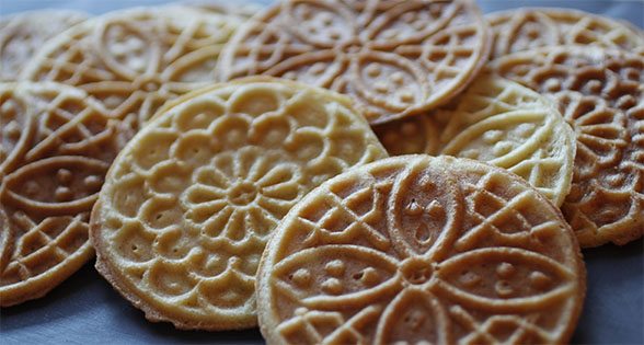 Gluten Free Pizzelle / Faratelle (Olive Oil) Recipe