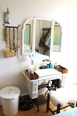 Male pattern boldness when bad things happen to good sewing machines and tables - Four ways to repurpose an old sewing machine ...