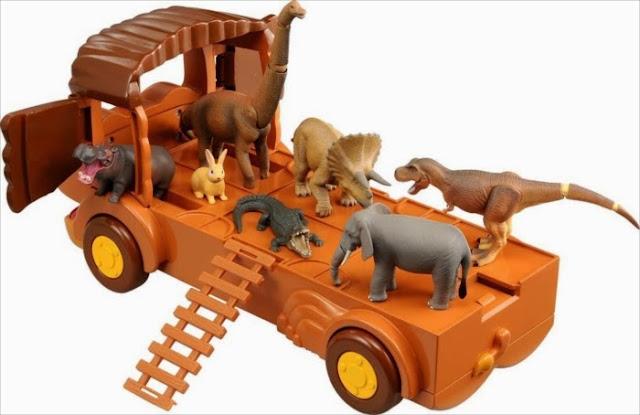 Xe hình sư tử Lion Bus có thể chở các con động vật Ania