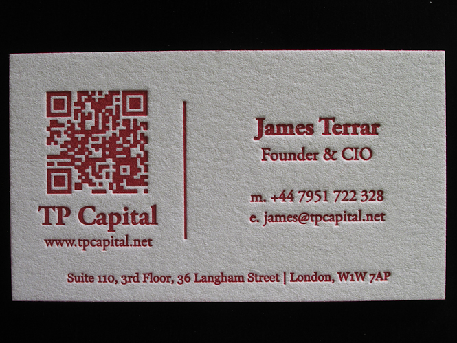 Letterpress business cards with qr code and edge paint related posts letterpress invitations simply gold anne rich photographys business cards colourmoves