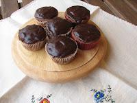 magdalenas de chocolate/chocolate cupcakes