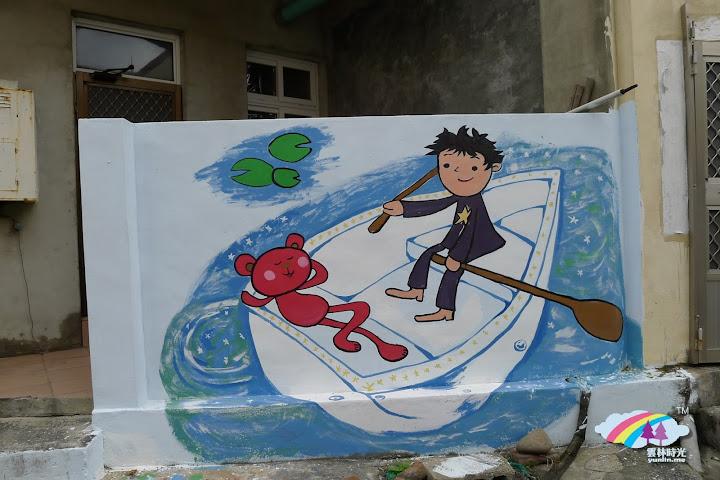 台西隨走隨拍- 從台西國中, 基督教會, 台西鎮海宮, 慈海宮, 一直到國際彩繪村的海邊