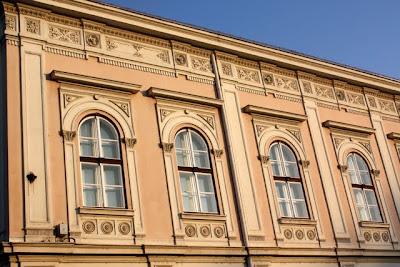 Historic building in Belgrade Serbia