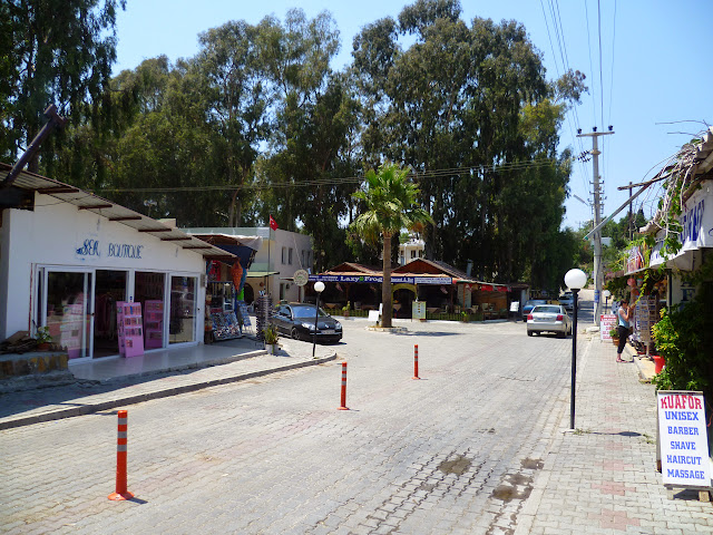 Patara town centre - at rush hour