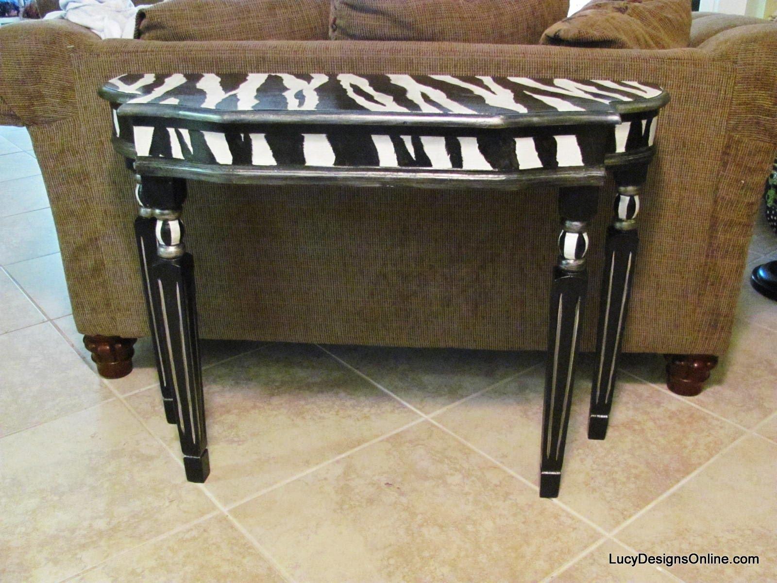 Sophisticated Zebra Print Table Setting Images - Best Image Engine ...