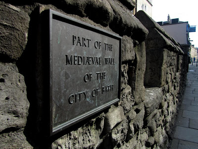 Part of the Medieval Wall of the City of Bath