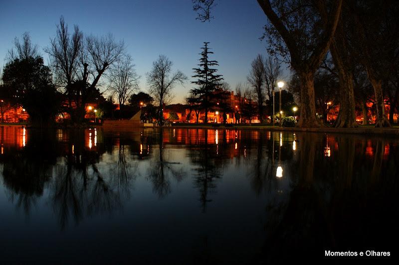 Fim de tarde no Jardim do Bonfim