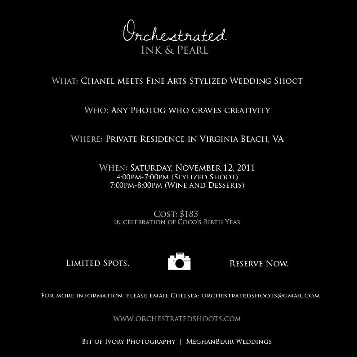 Orchestrated Stylized Shoot in Virginia Beach November 12 2011