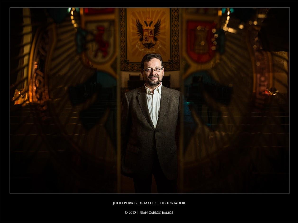 Julio Porres de Mateo | Historiador por Juan Carlos Ramos fotógrafo de toledo