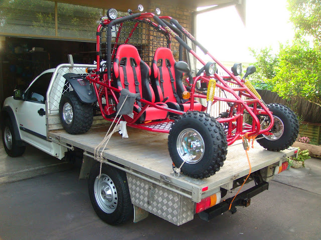 250cc GK Kandi Shaft Drive IRS Alloy Wheels Rims Offroad Dune Buggy Go Cart on ute