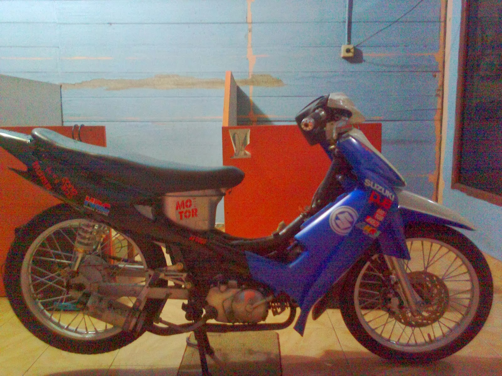 Modifikasi Motor Suzuki Smash Road Race Wacana Modif Motor