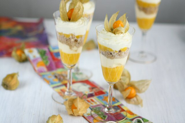 Mango and vanilla ice cream trifles recipes recipe mango and vanilla ice cream trifles ccuart Image collections