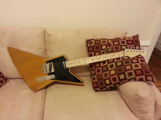 NGD: Partscaster TeleXplorer (Warmoth + KnE Guitars)   The