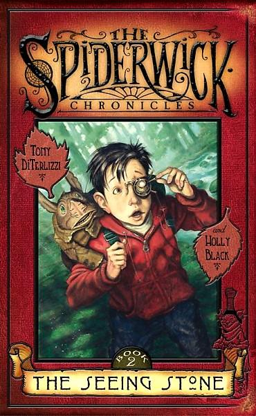 Book Review: The Seeing Stone (Spiderwick Chronicles, Book 2), By Black & DiTerlizzi Cover Art