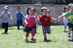 LePort Montessori Preschool Toddler Program Irvine Spectrum - children running on the playground