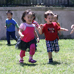 LePort Montessori Preschool Toddler Program Irvine Spectrum - children running on the playground