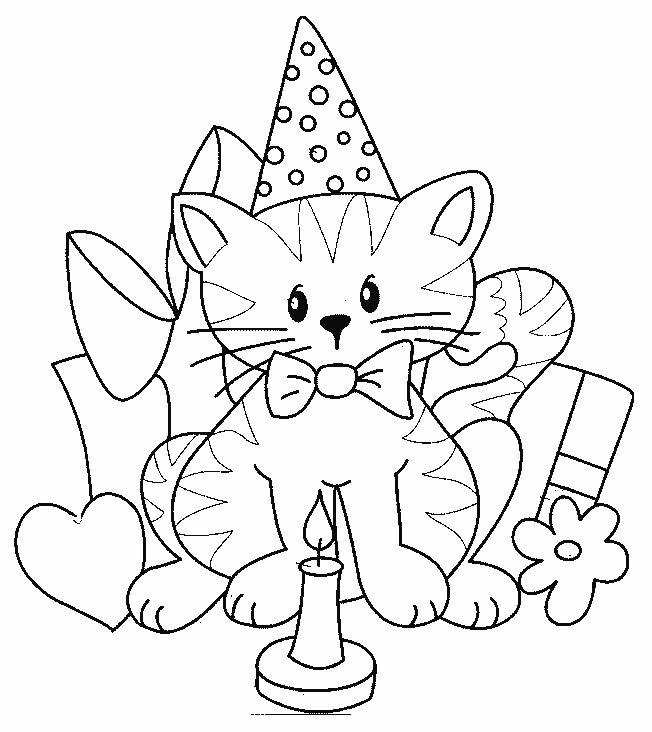 Tarjetas Cumpleaños Para Colorear E Imprimir Imagui