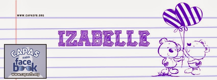 Capas para Facebook Izabelle