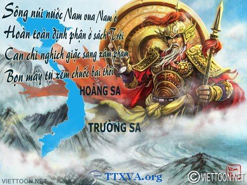 BẢN LÊN TIẾNG  v/v Trung Quốc xâm phạm lãnh hải Việt Nam