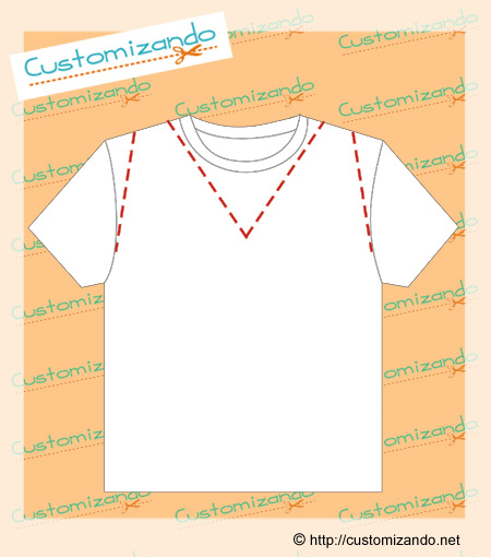 Cortes De Customiza    O De Camiseta
