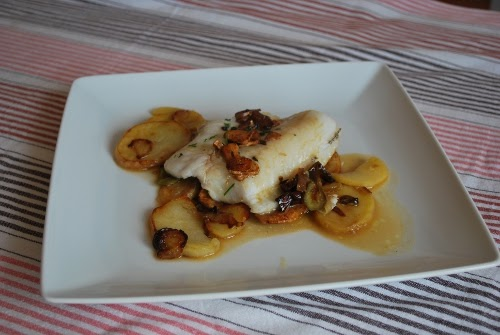 Cocinando en los fiordos lomos de merluza al horno - Cocinar lomos de merluza ...