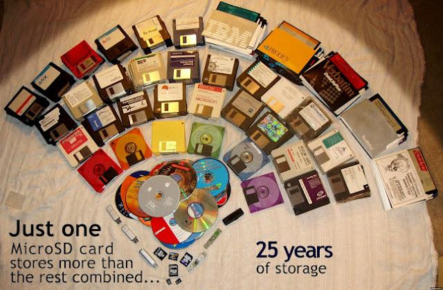 Just one MicroSD card