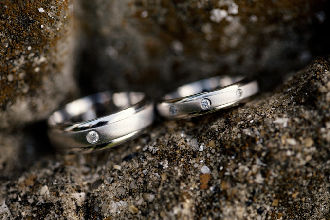 wedding rings with diamonds STUDIO 1208