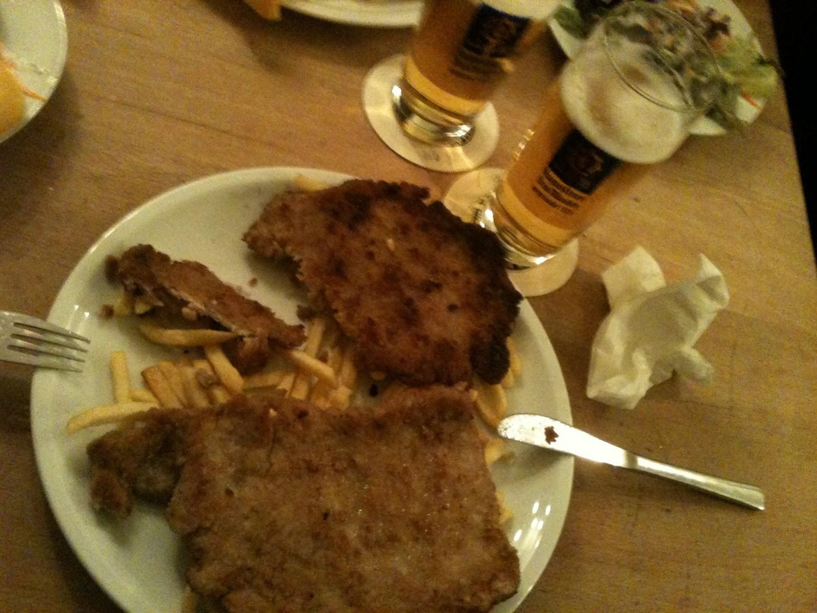 Schnitzel at Steinheil