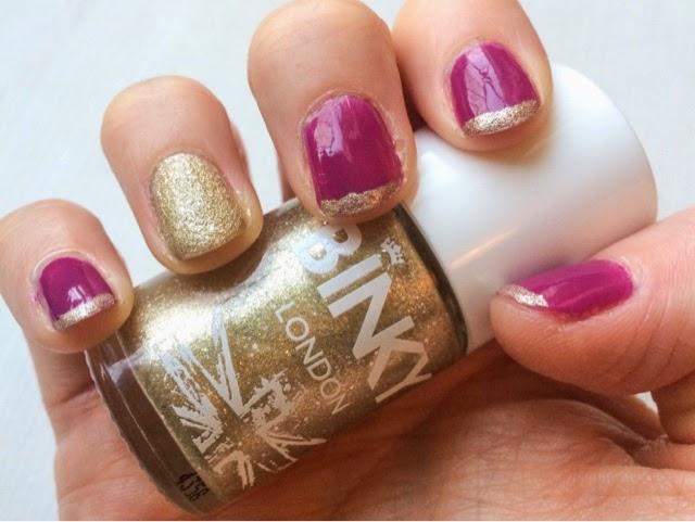 binky-london-nail-polish-gold-rush-made-in-chelsea-binky-felstead-gold-manicure-nail-art-purple-nails