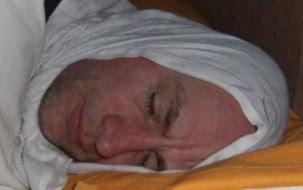 Chris: Schlafen mit Kefije bei Kälte