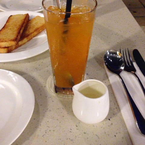 Iced Orange Tea Spasso Milano