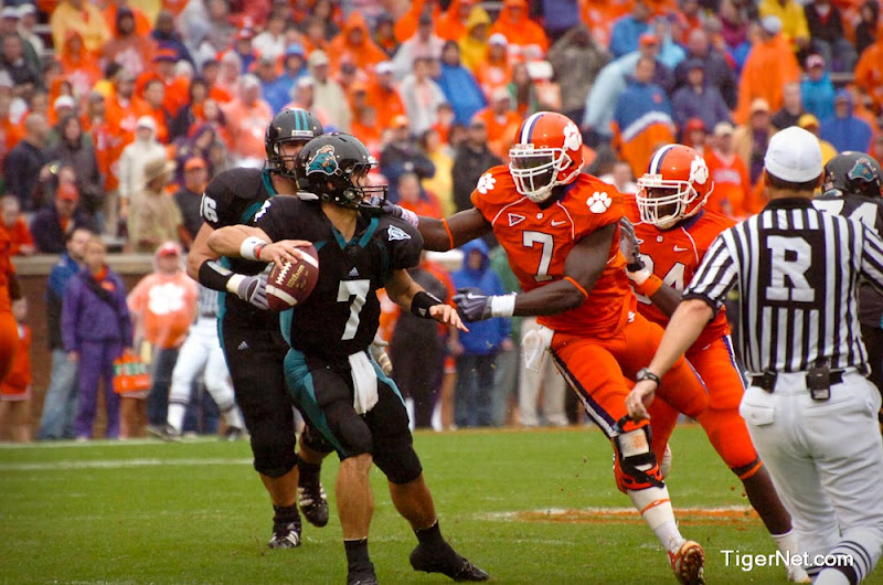 Clemson vs. Coastal Carolina Photos - 2009, Coastal Carolina, Football, Ricky Sapp