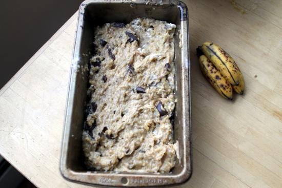 Giant loaf pan or tiny bananas?
